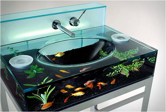 1 aquarium sink by italbrass Aquarium Sink by Italbrass