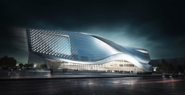 1 dalian museum competition design concept Dalian Museum Competition Design Concept