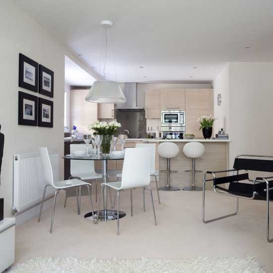 10-open-plan-kitchen-diners-Modern-neutral-kitchen-diner | Home ...