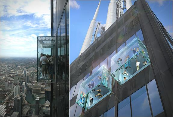 2 glass balcony skydeck chicago Glass Balcony   Skydeck Chicago
