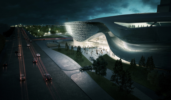 4 dalian museum competition design concept Dalian Museum Competition Design Concept
