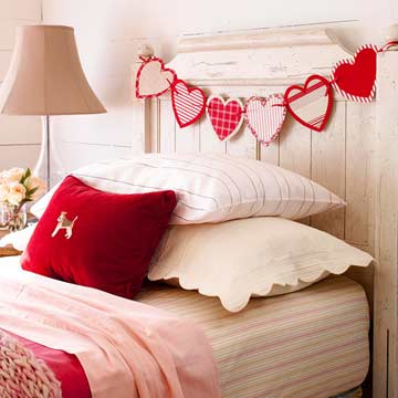 Love sense in interior design hearts cupids and signs messagenote - Handmade home decoration items collection ...