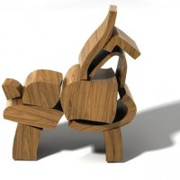 Wooden Blocks by Brinca
