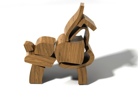 5 wooden blocks by brinca Wooden Blocks by Brinca