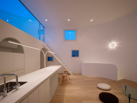 8 light stage house by future studio Light Stage House by Future Studio