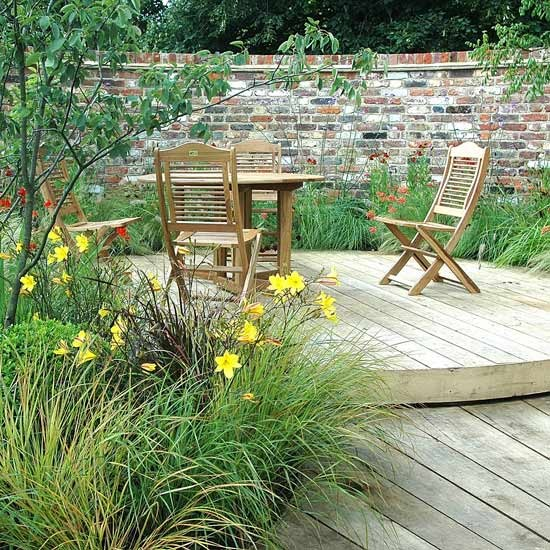 1 design ideas for garden decking Design Ideas for Garden Decking