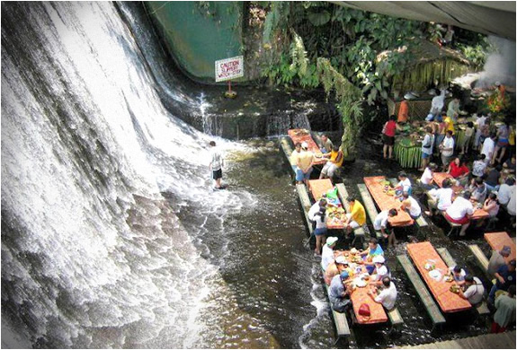 1 waterfall restaurant in philippines Waterfall Restaurant in Philippines