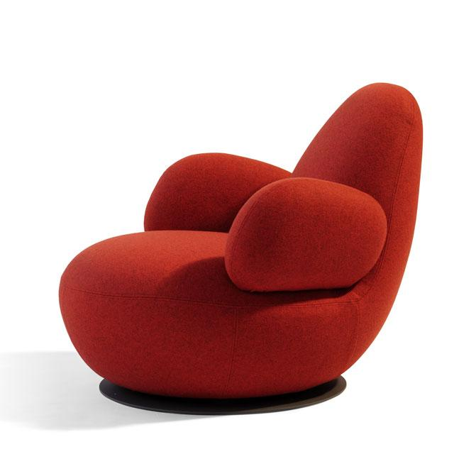 12 soft chairs by borselius design oppo low Soft Chairs by Borselius Design