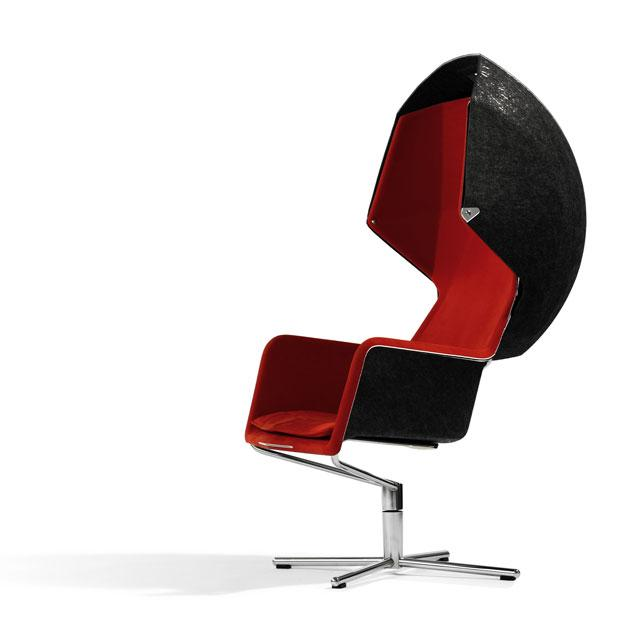 2 chair with hood by borselius design Chair with Hood by Borselius Design