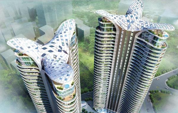 4 glass balcony pools at india Glass Balcony Pools at India