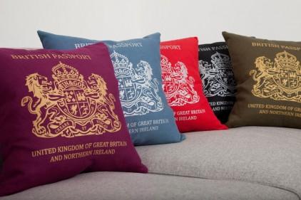 4 passport cushion by bouf Passport Cushion by Bouf