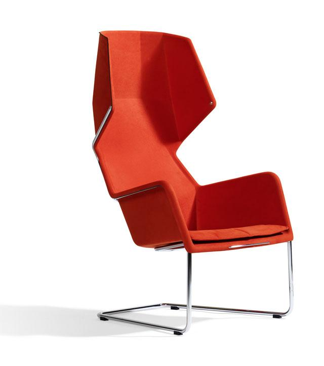 7 chair with hood by borselius design Chair with Hood by Borselius Design