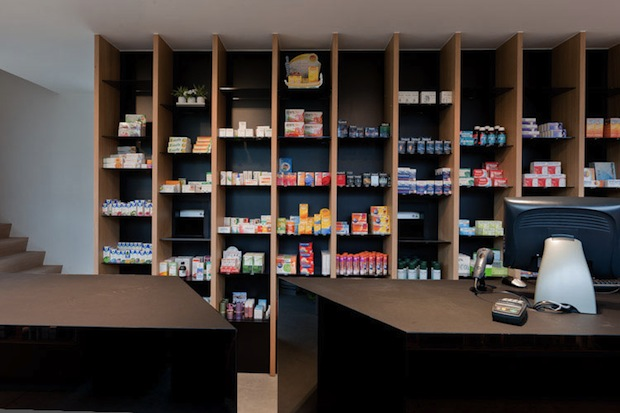Unusual Pharmacy in Belgium