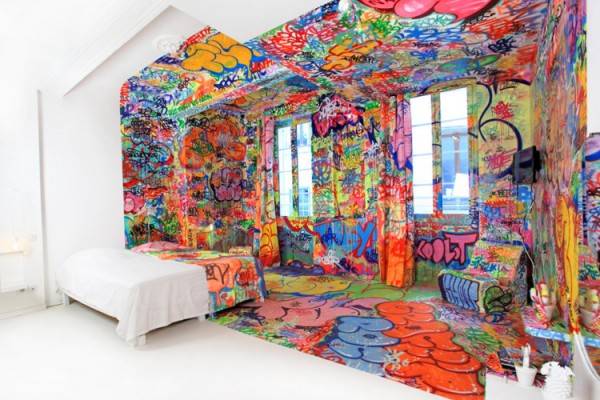 1 graffiti hotel by tilt Graffiti Hotel by Tilt