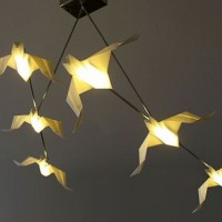 Origami Lamps By Si Studio