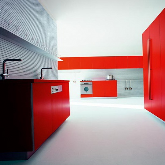 10 colour schemes ideas for kitchen Red kitchen Colour Schemes Ideas for Kitchen