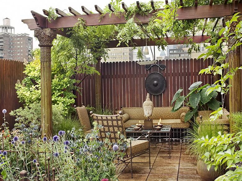 2 private garden in chelsea Private Garden in Chelsea
