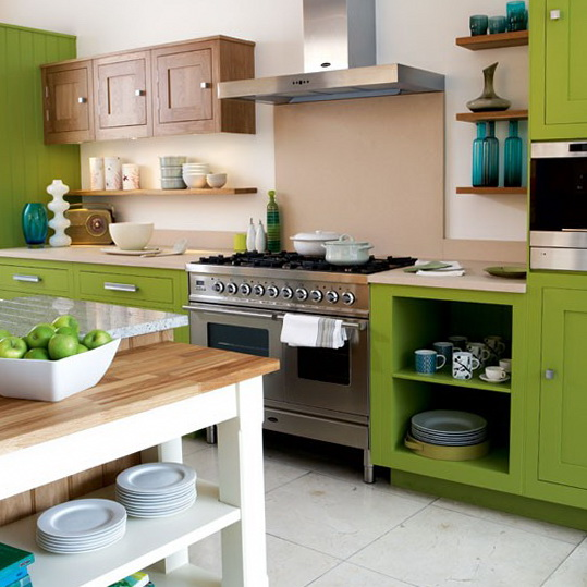 3 colour schemes ideas for kitchen Green kitchen Colour Schemes Ideas for Kitchen