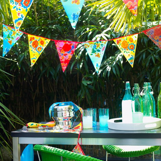 3-craft-projects-for-holiday-weekend-Make-your-own-bunting | Home ...