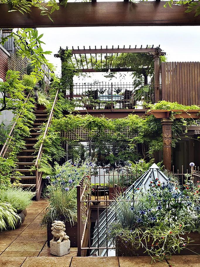 7 private garden in chelsea Private Garden in Chelsea