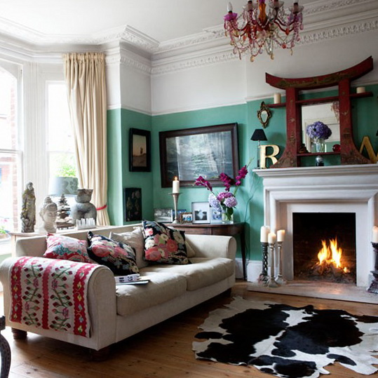 Modern ethnic eclectic decor looking at this as inspiration for