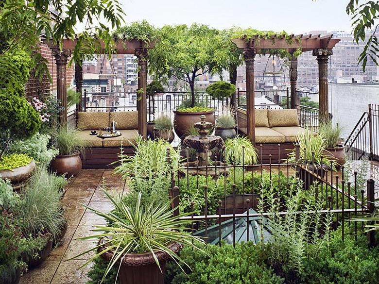 8 private garden in chelsea Private Garden in Chelsea