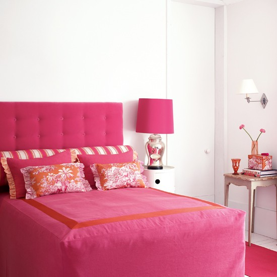 10 colourful bedrooms modern design Pink feminine bedroom Colourful Bedrooms   Modern Design