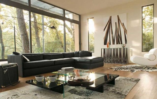 11 living room inspiration modern sofas Living Room Inspiration: Modern Sofas