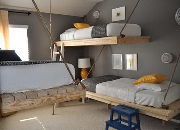 2 space saving bunk beds ideas Space Saving Bunk Beds Ideas