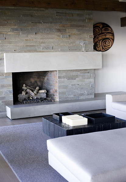 1000 images about fireplaces on pinterest modern fireplaces fireplaces and fireplace surrounds - Stunning contemporary fireplace designs ...