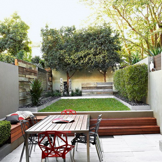 Small Courtyard Garden Design Ideas 539 x 539