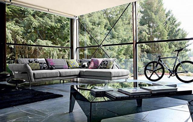 4 living room inspiration modern sofas Living Room Inspiration: Modern Sofas