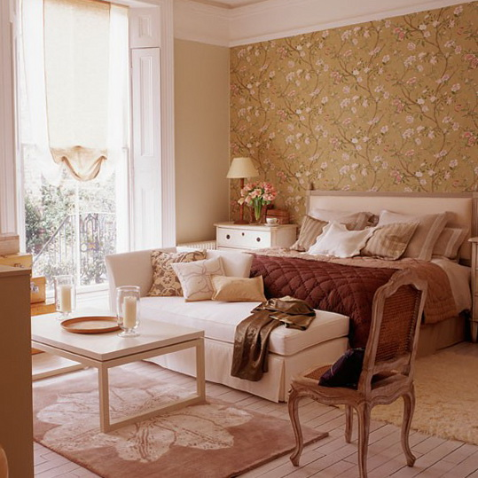 5 bedroom ideas wallpapers Create zones in an open plan space Bedroom Ideas   Wallpapers