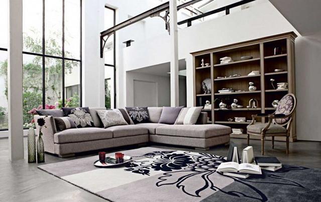 5 living room inspiration modern sofas Living Room Inspiration: Modern Sofas