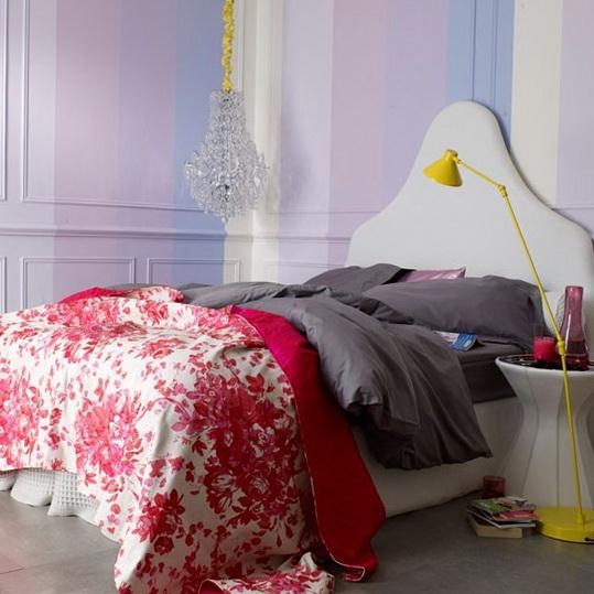 6 colourful bedrooms modern design Romantic bedroom Colourful Bedrooms   Modern Design