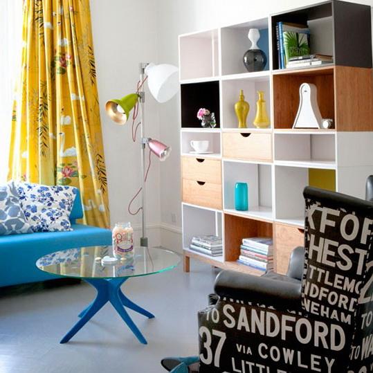 8-living-rooms-10-decorating-ideas-Retro-living-room | Home ...