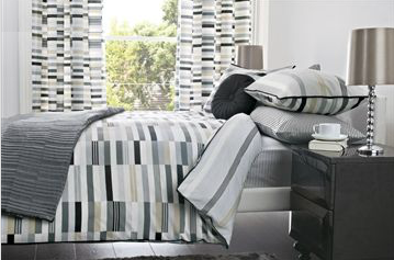Chequer Board Reversible Print Duvet And Pillowcase Set from Next Make your bedroom more than just a place to sleep in