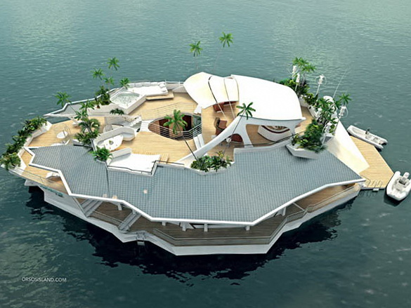 1 man made floating orsos island Man made Floating Orsos Island