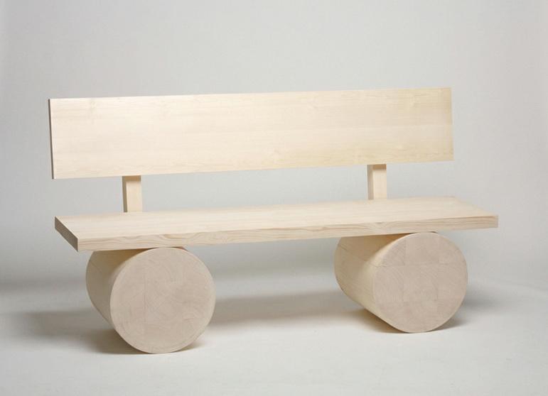 Wooden Bench by Thomas Schnur | Home Interior Design, Kitchen and ...