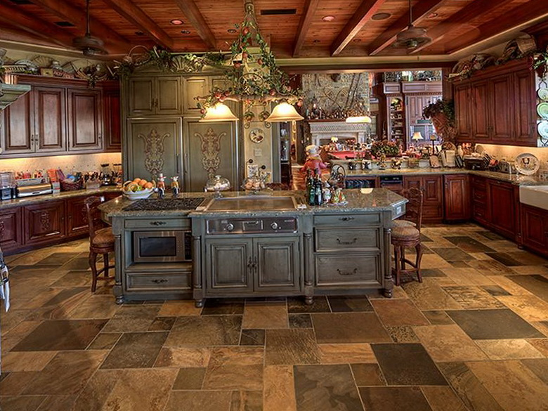 Mediterranean decorating ideas home improvement living room design Old world tuscan kitchen designs
