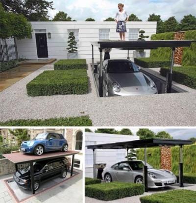 Unique Home Designs Doors on Totally Unique Garage Door Openers That Will Make Your Car Happy