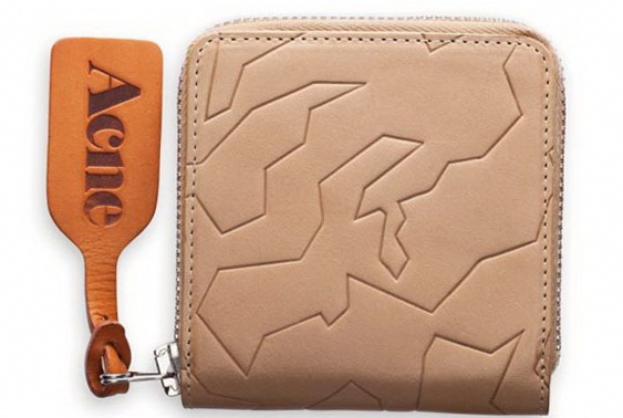 1 amber geo wallet by acne Amber Geo Wallet by Acne