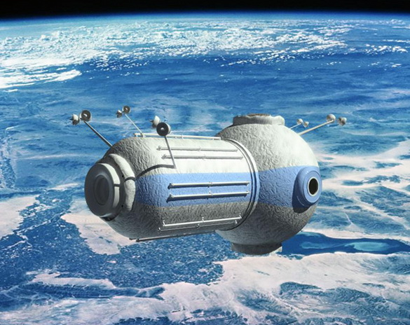Concept of Russian Space Hotel