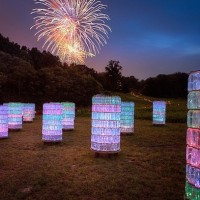 Conceptual Light Gardens By Bruce Munro