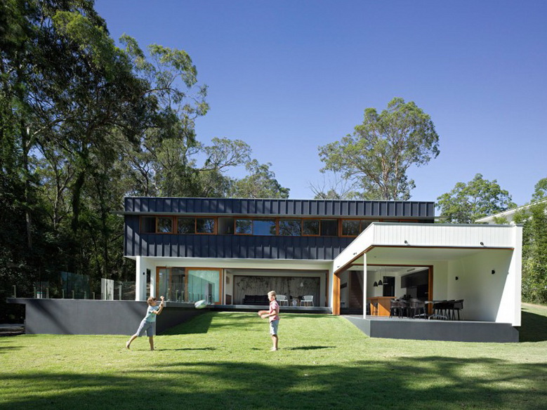 Australian architectural firm shane plazibat architects has designed