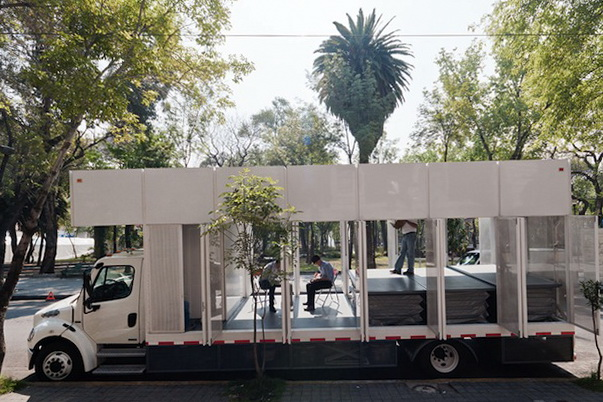 Book Library On Wheels in Mexico City