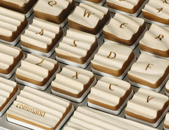 Wooden Tactile Keyboard