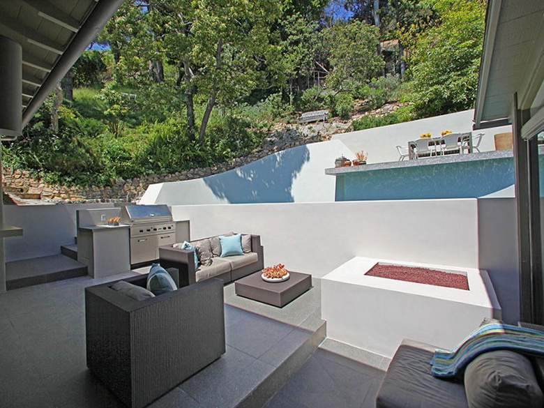 2 modern home in hollywood hills Modern Home in Hollywood Hills  MODERN HOME IN HOLLYWOOD HILLS BY HAL LEVITT 2 modern home in hollywood hills