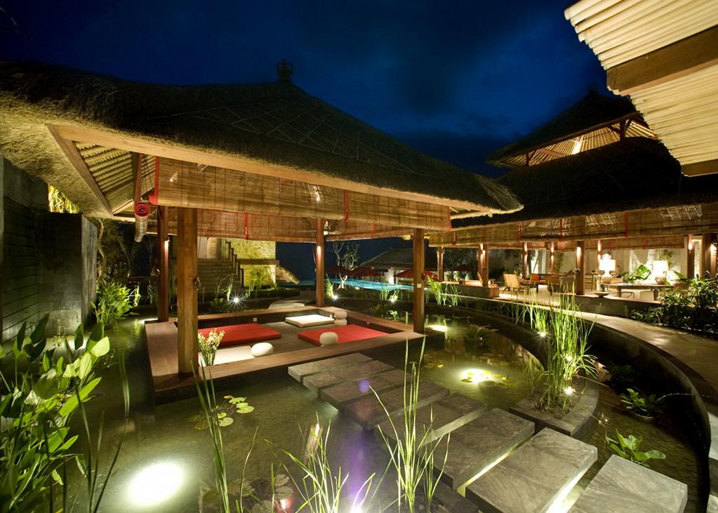 Exotic home designstiki chic bali retreat shutter line Bali home design