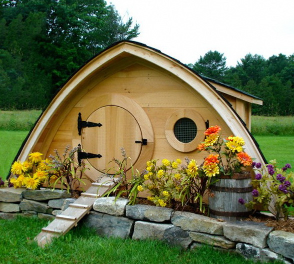 1 garden idea living for chicken Garden Idea   Living for Chicken